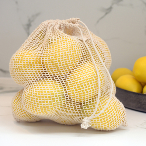 JUTE FRUIT AND VEGETABLE BAGS